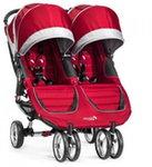 Baby Jogger City Mini Double Crimson/Grey